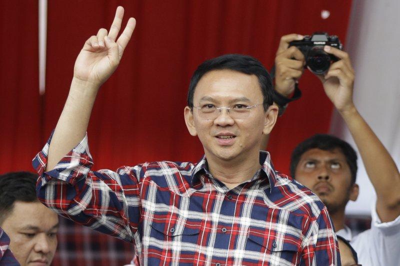 印尼首位華裔基督徒首長鍾萬學。(美聯社)