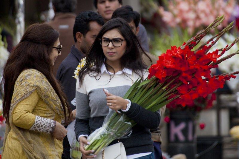 巴基斯坦掀起反西洋情人節聲浪,首都高等法院判決禁止一切廣告與商業活動。(美聯社)