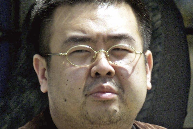 金正恩的兄長金正男在馬來西亞遭暗殺。(美聯社)