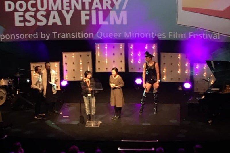 台灣導演黃惠偵執導的紀錄片《日常對話》,得到柏林影展泰迪熊獎最佳紀錄片。(取自泰迪熊獎臉書)