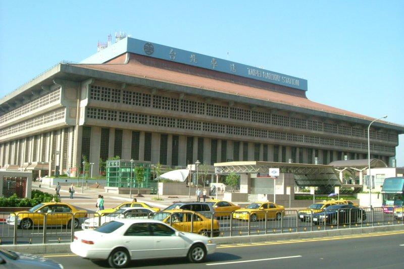 台北火車站(台灣少年@Wikipedia / CC BY-SA 3.0)