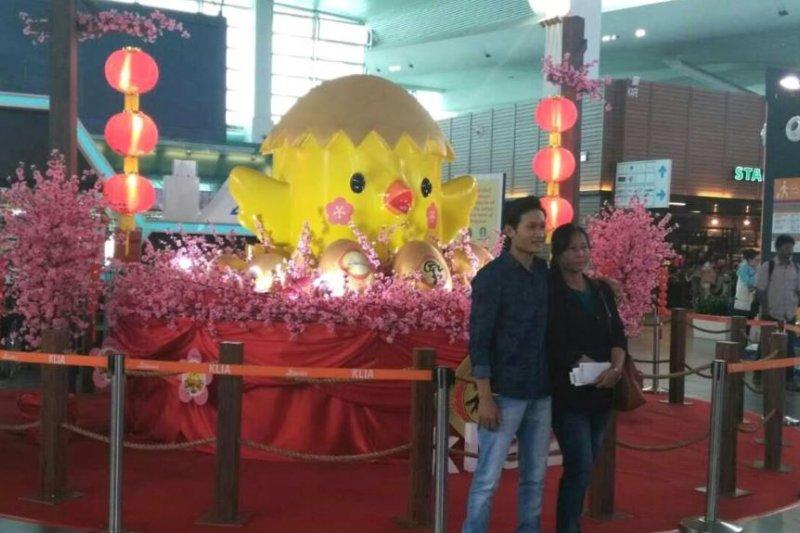 馬來西亞慶祝中國農曆雞年新春。(美國之音)