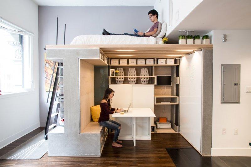 小小的空間經過創意規劃,也能變得超舒服!(圖/點一點設計提供)