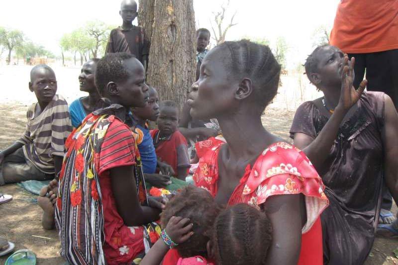 蘇丹部分地區已被聯合國宣告進入飢荒狀態,亟待國際社會援助糧食。(聯合國難民署資料照)