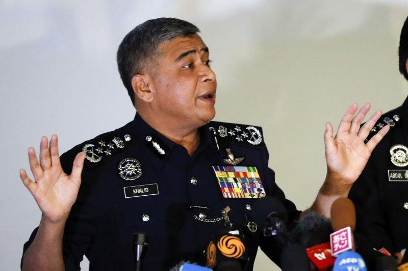 馬國警長卡立證實北韓駐馬來西亞大使館的外交官涉案。(美聯社)