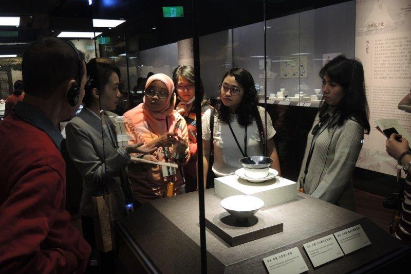 20170221-東南亞各大媒體參訪故宮南院。東南亞媒體團採訪拍攝(資料照,國立故宮博物院提供)