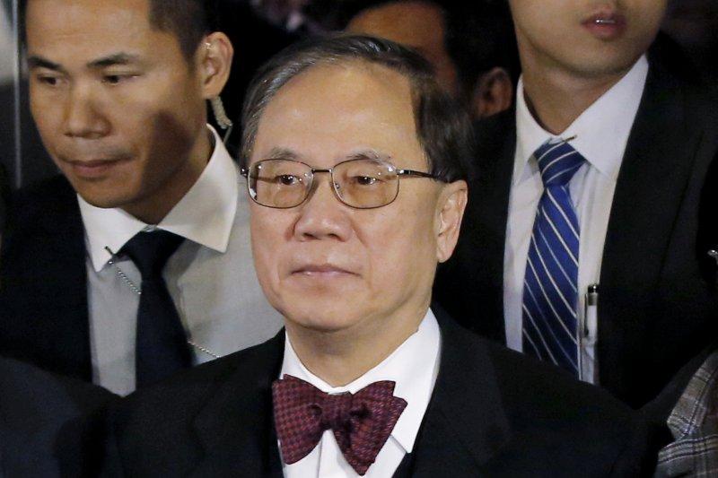 前香港特首曾蔭權遭判刑20個月。(美聯社)