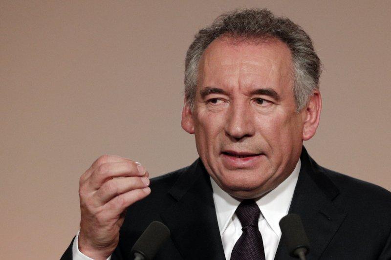 法國中間黨派「民主運動黨」(Mouvement démocrate)主席貝胡(François Bayrou)(AP)