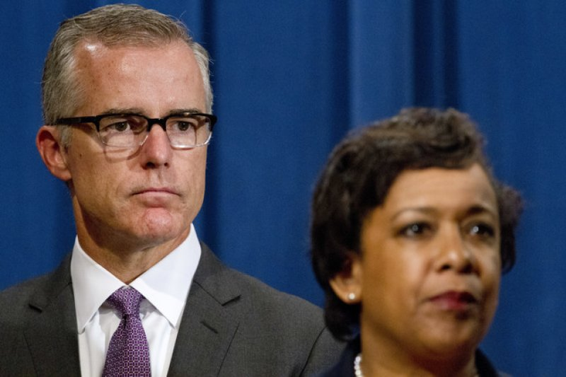 美國FBI副局長麥卡比(AP)