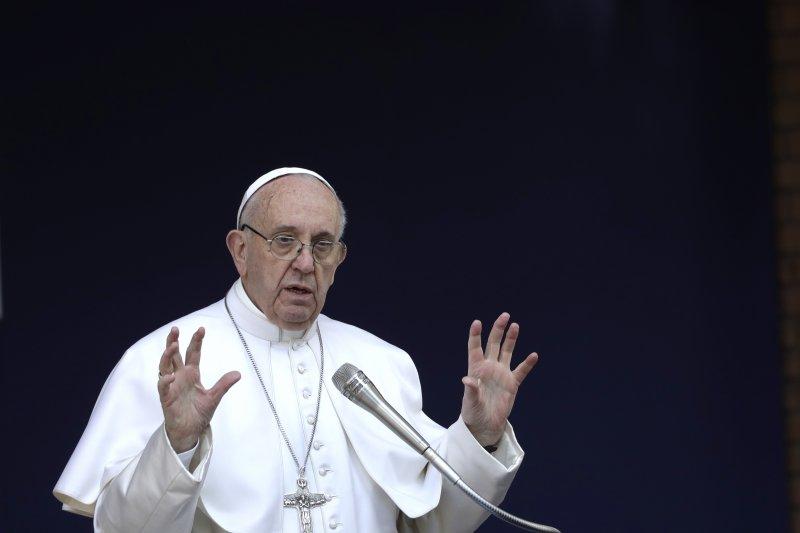 教宗方濟各抨擊虛偽的天主教徒(AP)
