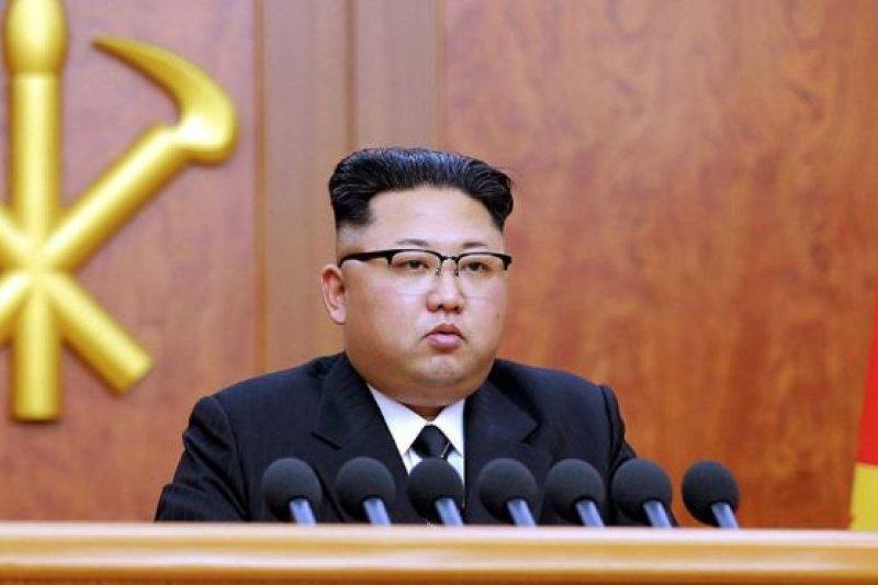 北韓成功試射飛彈金正恩稱對「主體武器」滿意。(美聯社)