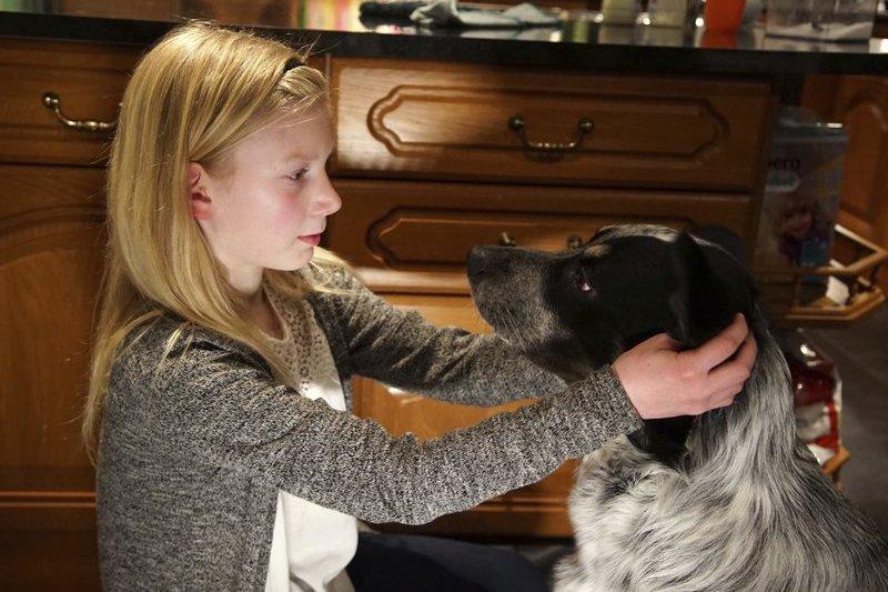 來自挪威、今年才10歲的安娜(Anna Thulin-Myge),感謝政府讓她正式成為女孩,還能去上女廁。(AP)