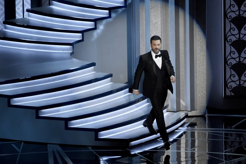 第89屆奧斯卡獎頒獎典禮,主持人吉米金莫(AP)