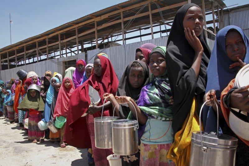 索馬利亞的饑民(AP)