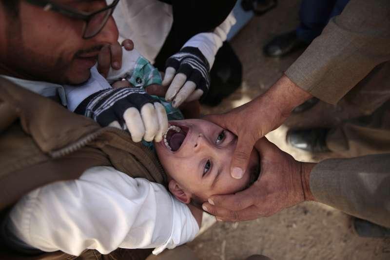 葉門的兒童(AP)