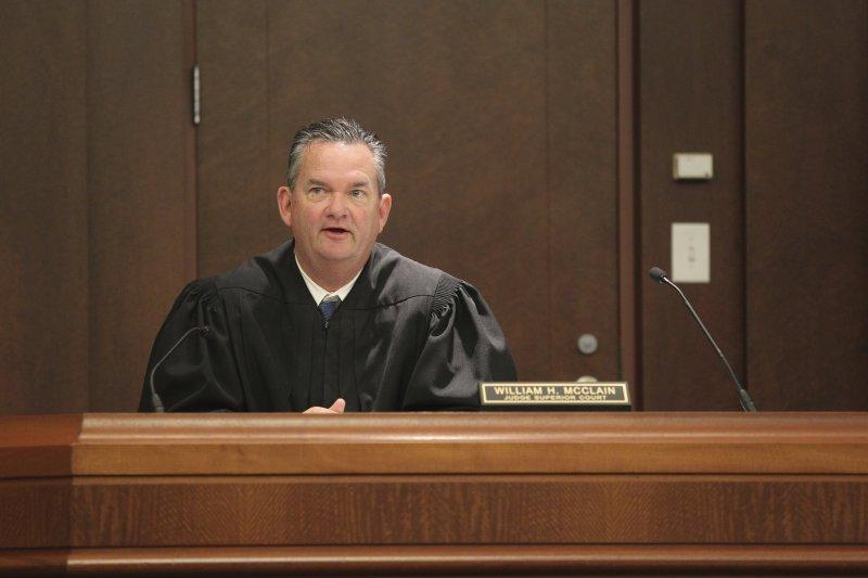 法官馬侃(William McClain)認定犯案動機源自種族仇恨(AP)
