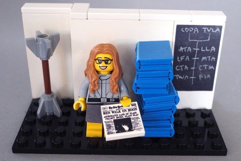 NASA電腦科學家漢密爾頓(取自Lego Idea官網)