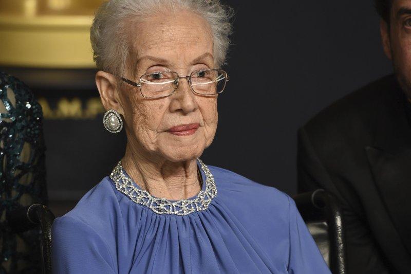 NASA女科學家凱薩琳.強森現身第89屆奧斯卡(資料照,AP)