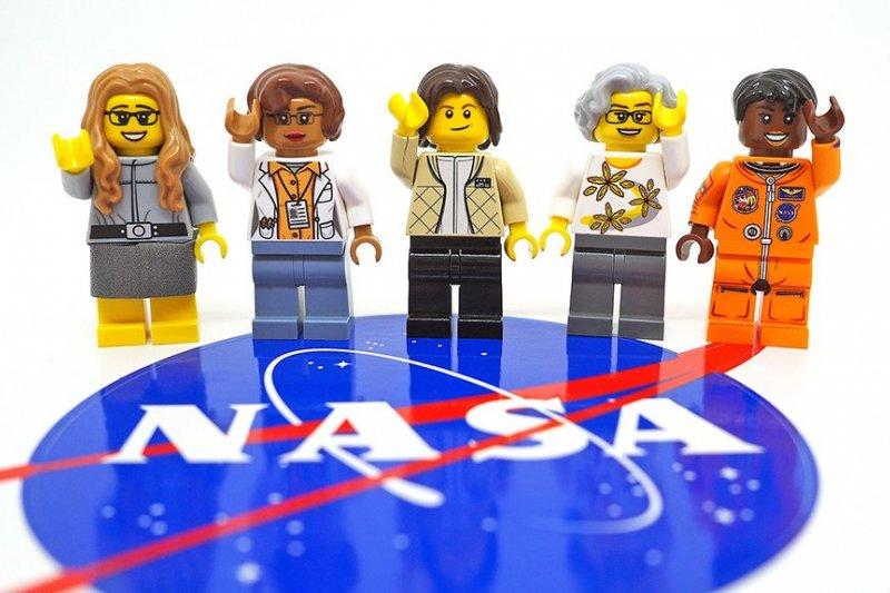 樂高推出Q版人物向NASA女科學家致敬(取自Lego Ideas官網)