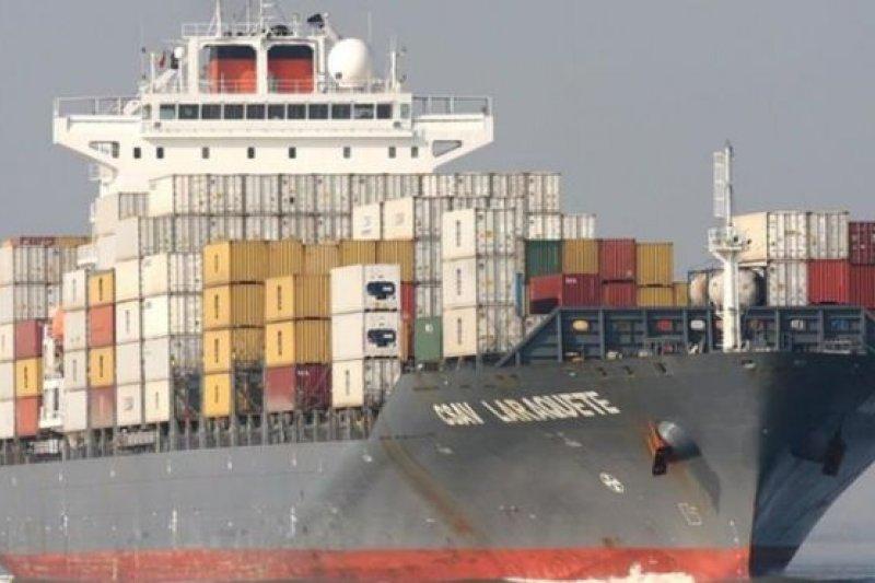 今年年初,船齡僅有7年的Hammonia Grenada被當作廢鋼鐵賣掉。(BBC中文網)