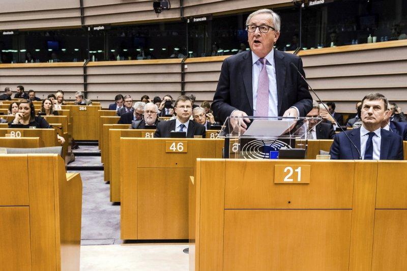 歐盟執委會主席容克(Jean-Claude Juncker)(AP)