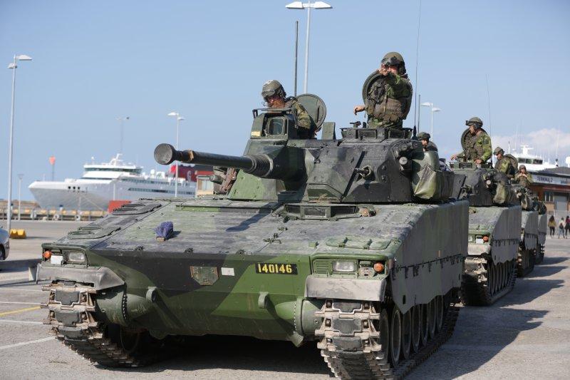 瑞典政府因應歐洲與周邊地區安全形勢惡化,決定恢復徵兵制(AP)