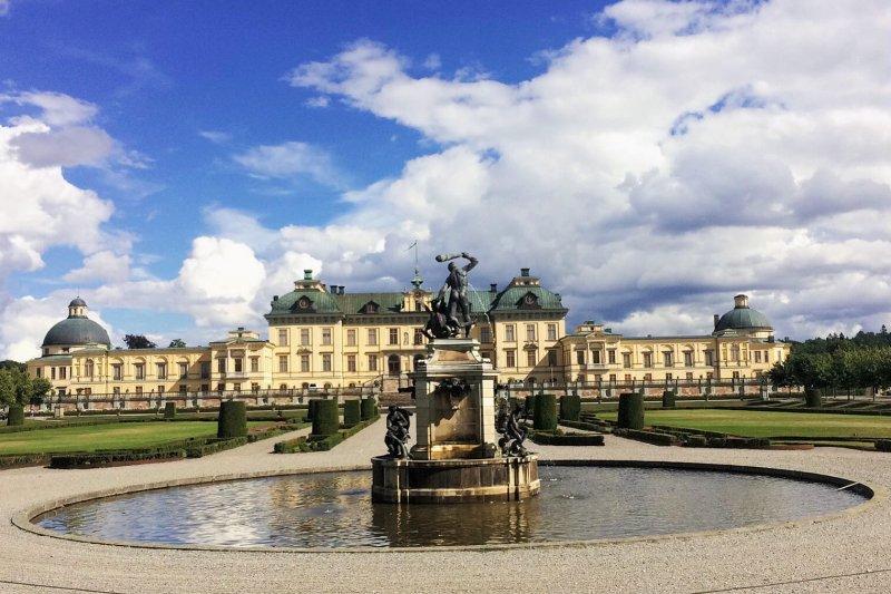 瑞典卓寧霍姆宮 Drottningholms slott。(圖/維京人酒吧提供)
