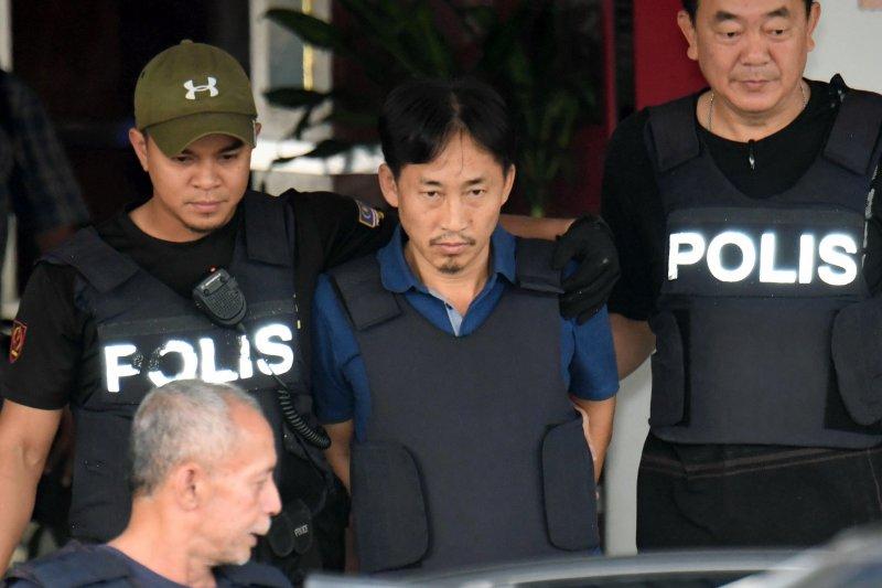 北韓廢太子金正男遭刺殺事件嫌疑人李鐘哲,3日被馬來西亞驅逐出境(AP)