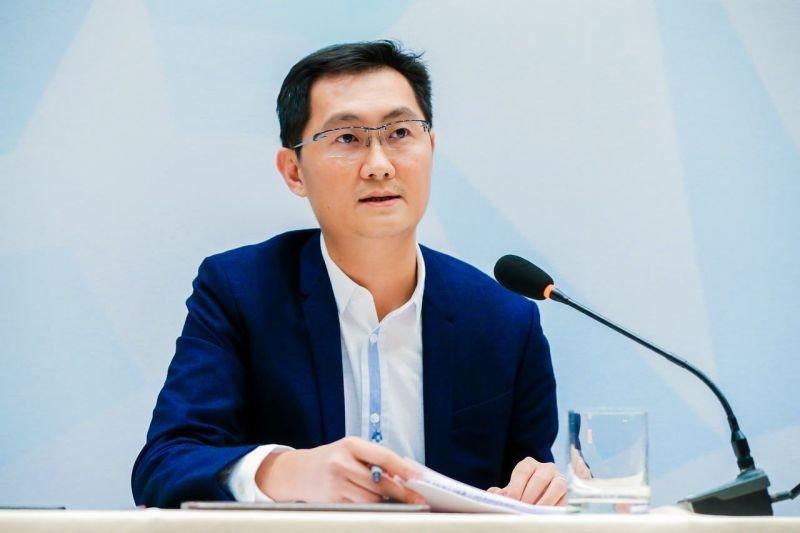 騰訊董事會主席兼首席執行官馬化騰。