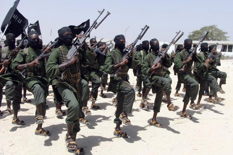 東非的伊斯蘭教恐怖組織「青年黨」(Al-Shabab)。(美聯社)