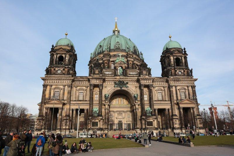 20170304-德國綠能專題,德國柏林大教堂。(顏麟宇攝)