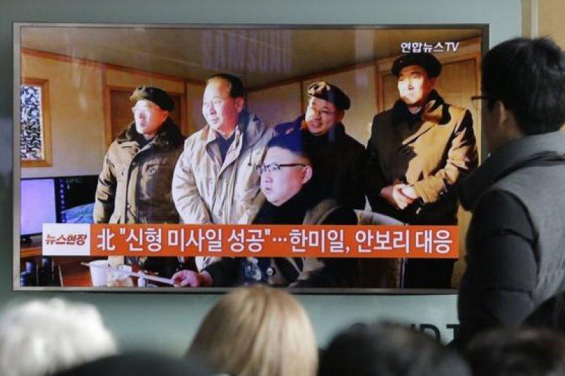 北韓指,金正恩要求北韓軍隊保持高度戒備狀態。(BBC中文網)
