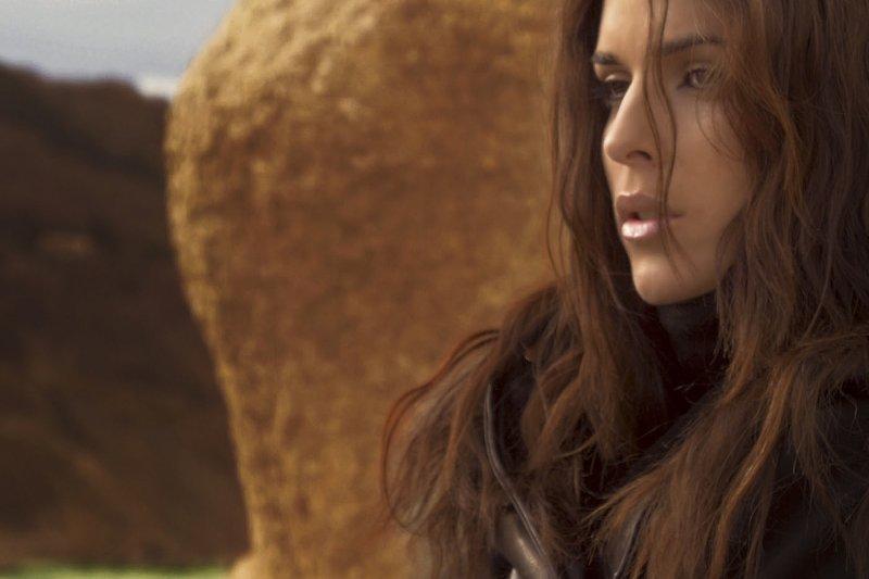 義大利模特兒諾塔蘿(Gessica Notaro)被潑酸前的照片。(美聯社)