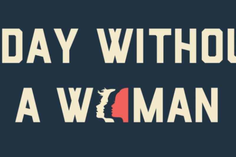 2017年國際婦女日主題「沒有女人的一天」,呼籲婦女罷工一天,讓政府及社會重視女性同工不同酬的問題。(截圖自www.womensmarch.com)
