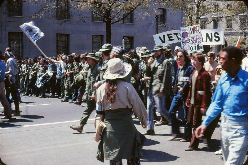 美國各地民眾發起反越戰抗議示威。(Leena A. Krohn@wikipedia/CC BY-SA 3.0)