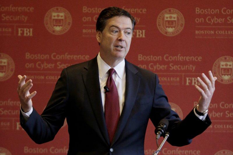 美國聯邦調查局(FBI)局長柯密(James Comey)(AP)