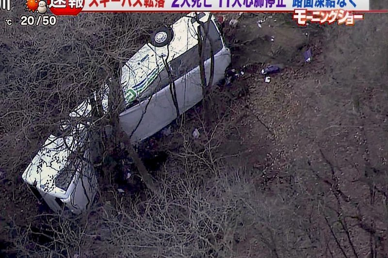 就在一年前,日本也發生類似蝶戀花的國道客運事故,從相似的案例中,我們能得到什麼啟發呢?(圖/擷取自まとログリー)