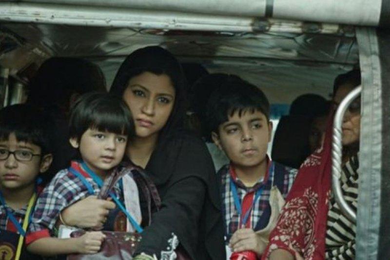 Konkona Sen Sharma扮演三個孩子的母親,她不願被看作生育機器。(BBC中文網)