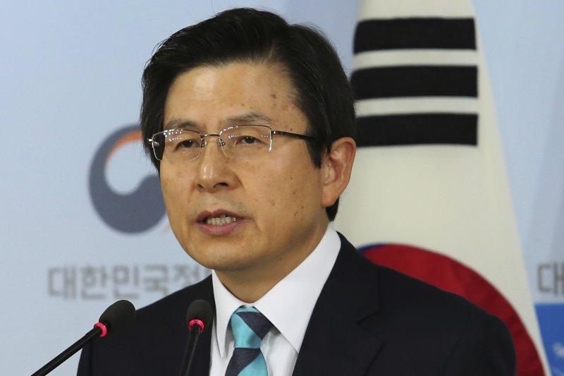 南韓代總統、國務總理黃教安(AP)