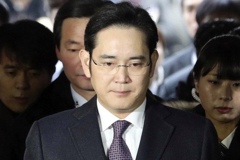 南韓前總統朴槿惠「親信門」醜聞男主角、三星少主李在鎔(AP)