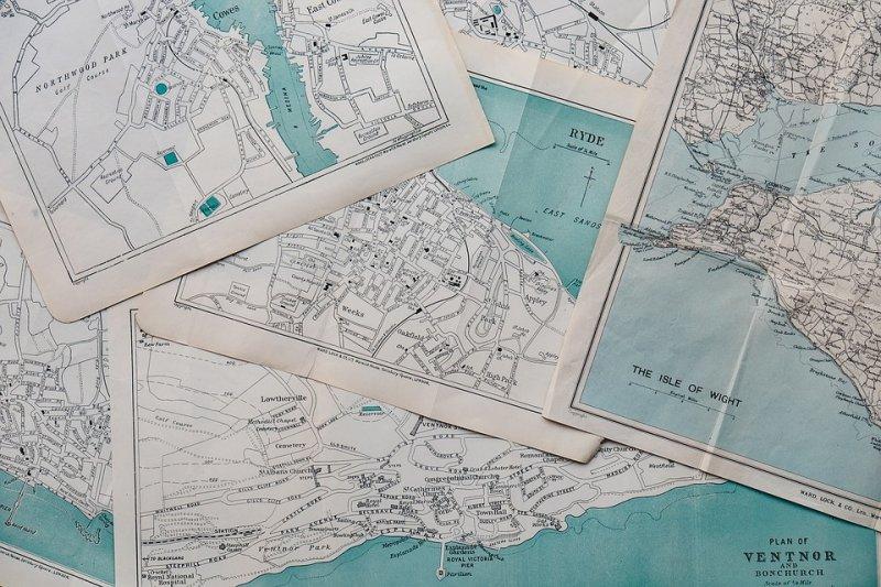 《地圖的歷史:從石刻地圖到Google Maps,重新看待世界的方式》。(圖取自pixabay)