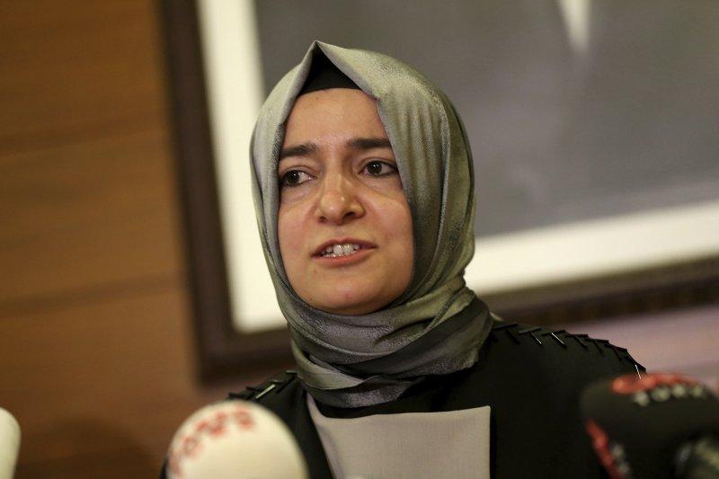 土耳其家庭及社會事務部長卡雅(AP)