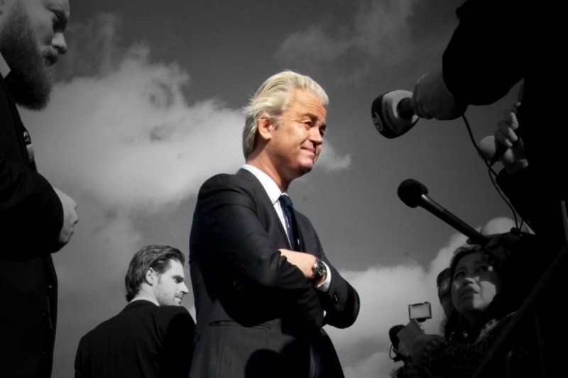 極右派「自由黨」(PVV)黨魁威爾德斯。(美聯社)