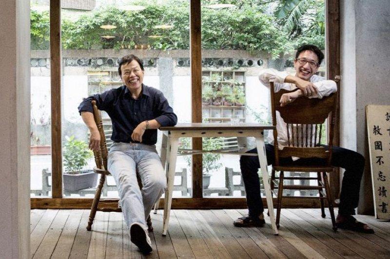 植劇場幕後推手王小棣和徒弟安哲毅,正讓台劇走向全新的路。(圖/Marie Claire美麗佳人提供)
