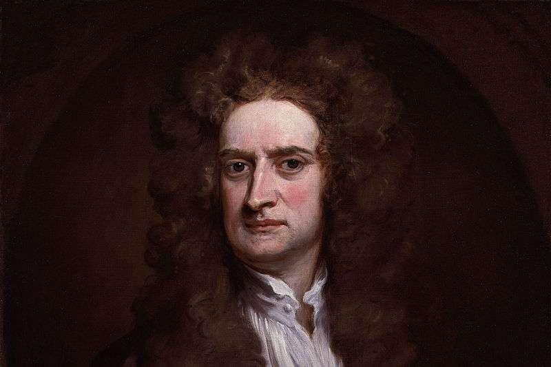 牛頓對基礎科學有很大的貢獻。(取自維基百科)