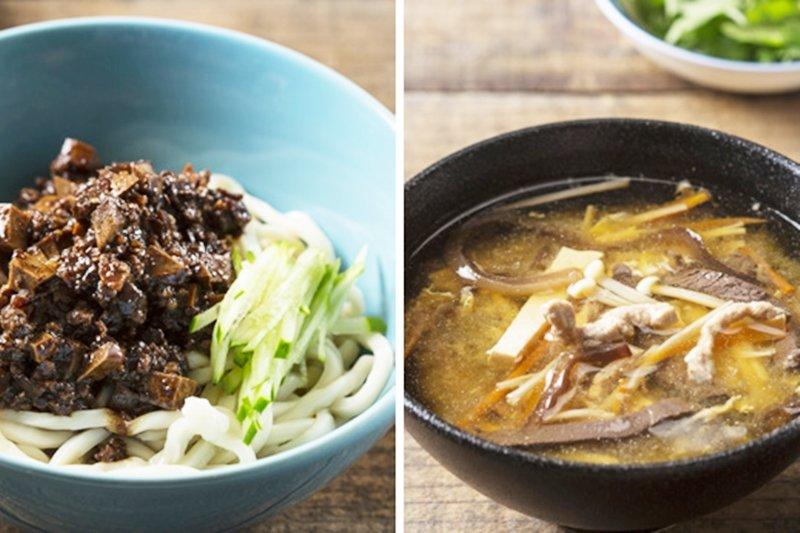 炸醬麵跟酸辣湯雖然很常見,但要做得好吃其實不簡單呀!(圖/璞真奕睿攝影,野人文化提供)