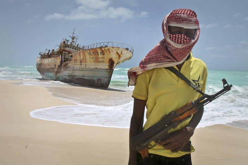 索馬利亞海盜再起,讓國際社會關切東非海域是否又陷入不穩定。(美聯社)
