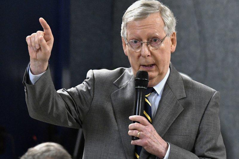 川普預算案:聯邦參議院共和黨領袖麥康奈爾表明不認同川普的預算案(AP)