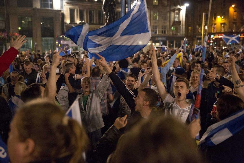 2014年9月18日,蘇格蘭獨立公投(AP)