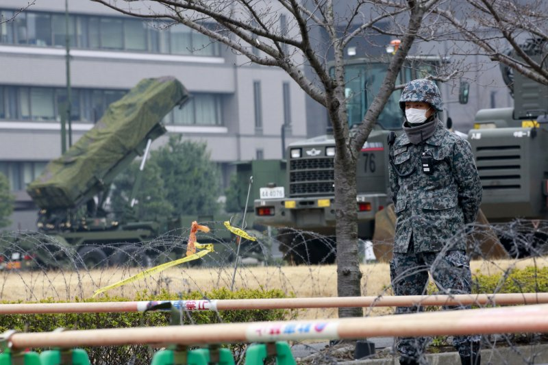 日本自衛省的愛國者飛彈防禦系統(AP)